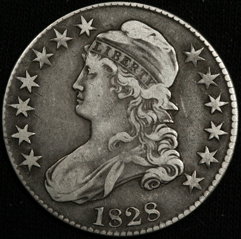 1829 Capped Bust Half Dollar Grade Variety Value