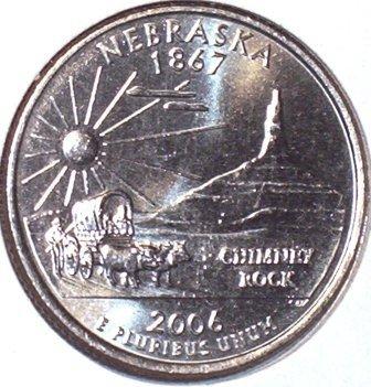 25 центов (квотер) - квотер штата небраска 2006 года d сообщить об ошибке