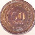 1972 singapore 50 cent