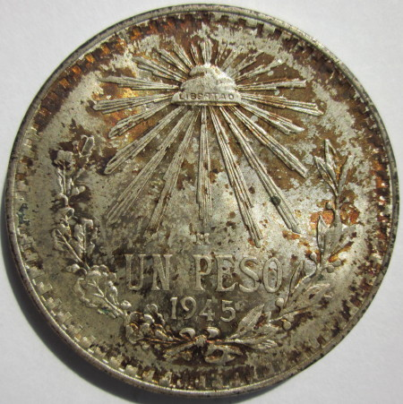 1945 Un Peso