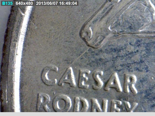 Delaware State Quarter: Spitting Horse Die Crack / Error
